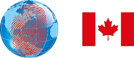 Canadian criminal records check by fingerprints international mail
